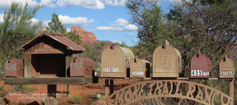 Mailbox,Cathedral Rock,Sedona