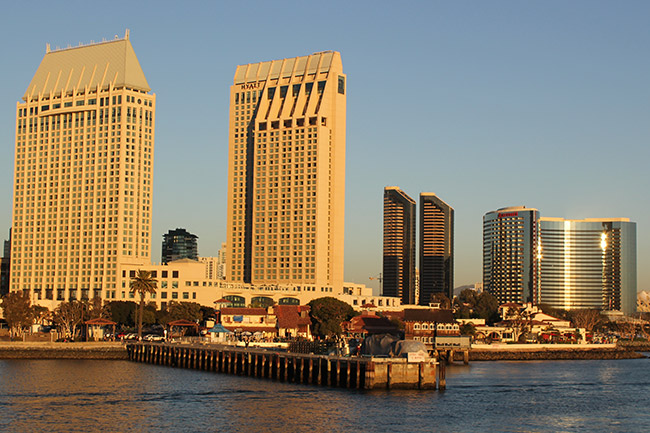 Manchester Grand Hyatt,Marriott Marquis,Marina,Seaport Village