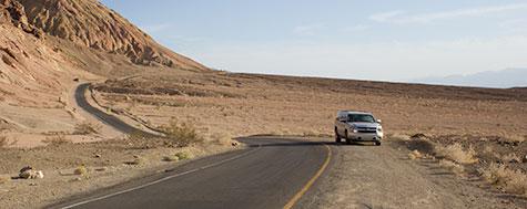 Suburban,Death Valley,Vej,Ørken