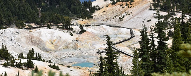 Bumpass Hell,Lassen Volcanic National Park