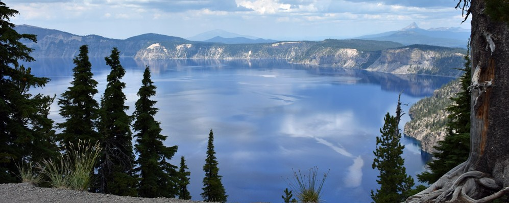 Panorama view,Crater Lake