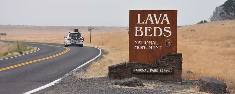 Entrance,Lava Beds National Park