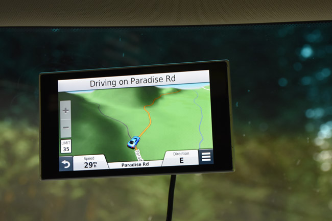 GPS,Picture,Paradise Road
