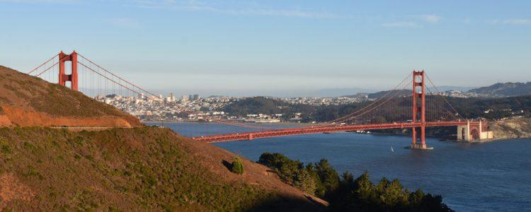 Golden Gate Bridge,Sunset,San Francisco