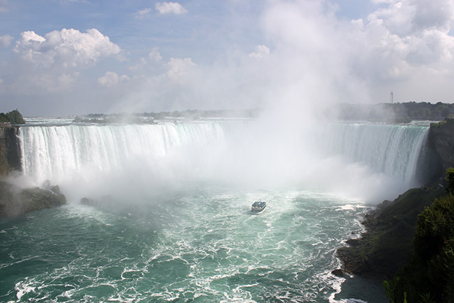 Maid of the Mist,Horseshoe Falls,Niagara Falls