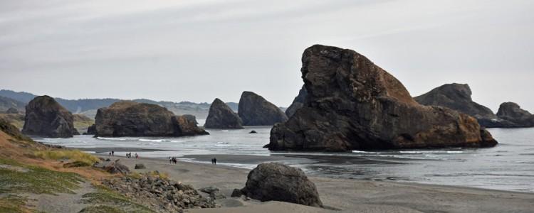 Rocks,Seashore,Sea,Oregon
