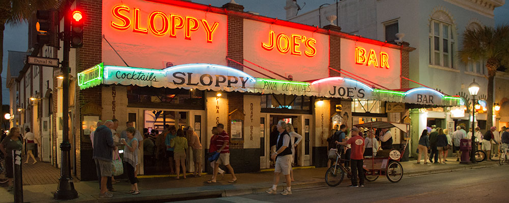 Aftenliv,Sloppy Joes Bar,Duval Street,Key West