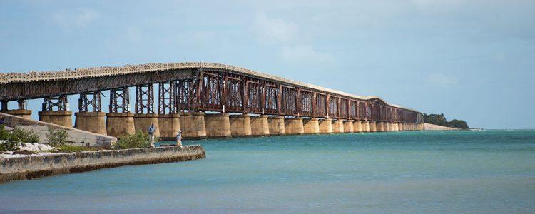 Bro,Key West,Lystfiskere,Jernbanebro