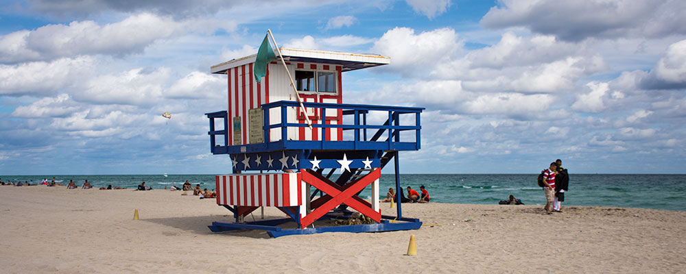 Livredderhus,South Beach,Miami