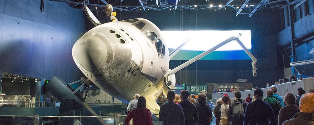 Rumfærge,Atlantis,Udstilling,Kennedy Space Center