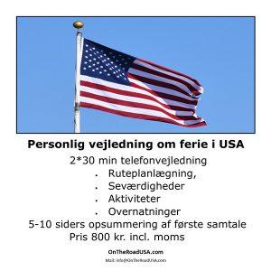 Personlig vejledning,Ny ferietur,USA