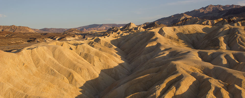 Zabriskie Point,Solnedgang,Klipper,Death Valley