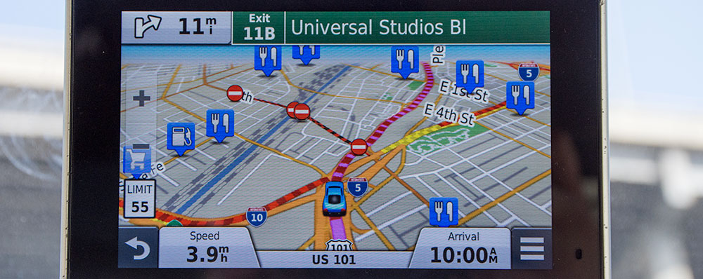 Garmin,Kort,LA,Ikoner,Universal