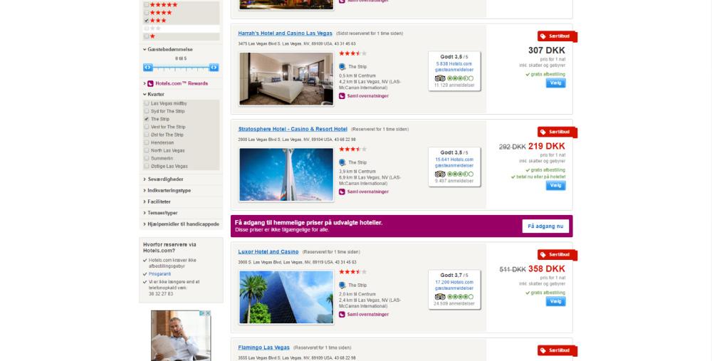 Skærmprint,Hotels,Billige firestjernede hoteller