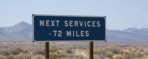 Skilt,Next Service,72 Miles