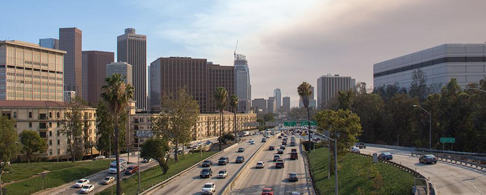 Trafik,LA,Vejbaner,Biler