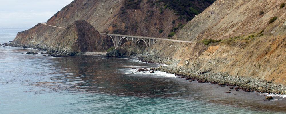Big Creek Bridge,Big Sur,Bro,Hav