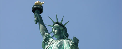 Frihedsgudinden,New York,Nærbillede