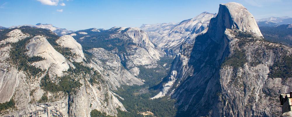 Glaicer Point,Udsigt,Half Dome,Yosemite Valley