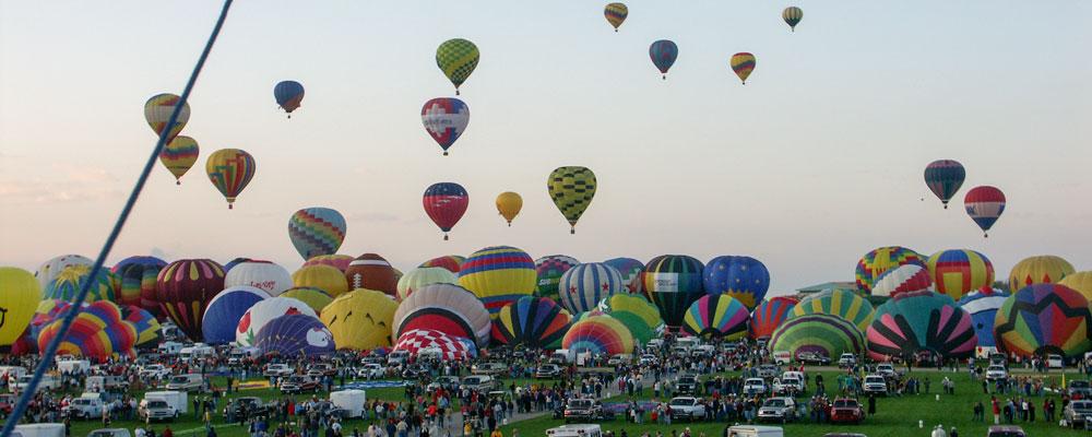 Luftballoner,Opstigning,Mennesker,Morgen,Alburquerque