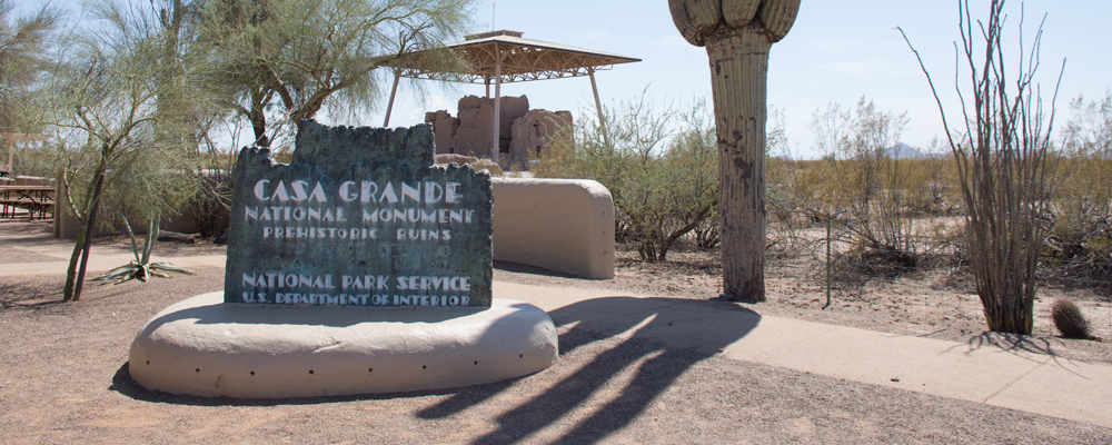 Casa Grande,Kaktus,Skilt,Ruin,Solskin