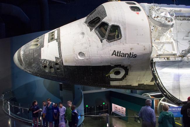 Rumfærge,Atlantis,Front,Tilskuer,Kennedy Space Center