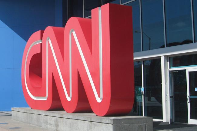 CNN,Skilt,Indgang,Glasparti,Atlanta