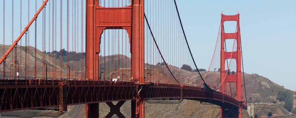 Golden Gate,Udsnit,Hængebro,Pylon