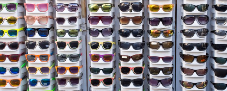 Solbriller,Stativ,Forskellige,Farvede