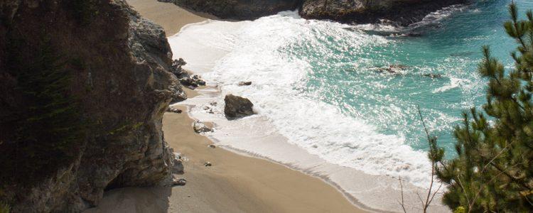 Strand,Vand,Klipper,Solskin,Highway 1,Big Sur