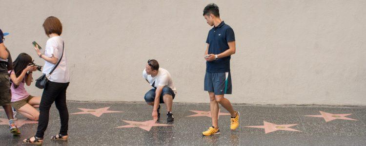 Walk of Fame,Stjerner,Fotografere,Mennesker