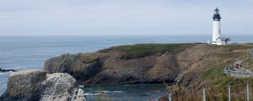 Yaquina Head Lighthouse,Klipper,Vand,Newport